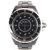 Chanel J12 Black Diamonds Full Set H1626