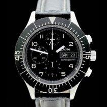 Sinn 156 Chronograph - Lemania 5100 - Bj.: 1985 - Edelstahl - AAW