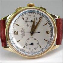 Universal Genève Unicompax jumbo 18kt Handaufzug Chronograph...
