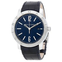 Bulgari Solotempo Blue Dial Automatic Men's Watch