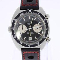 Heuer Autavia vintage Chronograph 1163 unpolished