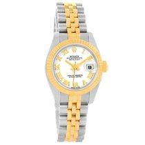 Rolex Datejust 26 Steel Yellow Gold White Dial Ladies Watch...