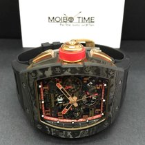 Richard Mille RM11 NTPT RED ROSE PINK GOLD Romain Grosjean Lotus