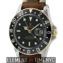 Ρολεξ (Rolex) GMT-Master Steel & Yellow Gold Black Dial R...