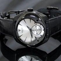 Franc Vila Neo Alta Steel Black DLC Silver dial
