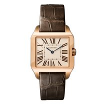 Cartier Santos Dumont Quartz Ladies Watch Ref W2009251