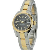 Rolex Unworn 179173 Ladys 2-Tone SS/YG Datejust with Oyster...