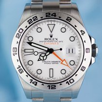 Rolex EXPLORER II - WHITE DIAL - 216570