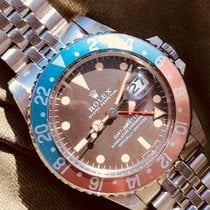 Rolex Gmt Master Ref. 1675 long E Tropical Dial 'Brown'