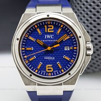 IWC IW323603 Ingenieur SS Automatic Blue Dial PLASTIKI (25923)
