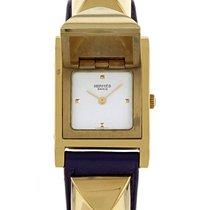 Hermès Médor - Wristwatch en plaqué or Vers 2000
