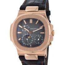 Patek Philippe Nautilus 5712r Rose Gold, Leather, 40mm