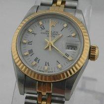 Rolex Lady-Datejust Stahl-Gold Top Zustand Damenuhr mit Papieren
