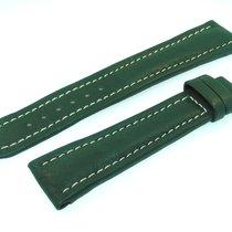 Breitling Band 22mm Green Calf Strap Correa Ib22-5