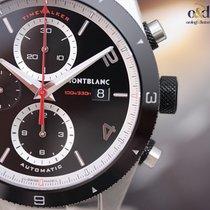 Montblanc TimeWalker Chronograph Automatic Ceramic Steel...