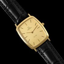 Omega 1980's De Ville Vintage Mens Ultra Thin Dress Watch