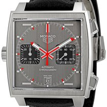 TAG Heuer Men's CAW211B.FC6241 Monaco Caliber 11 Watch