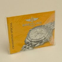 Breitling Crosswind Special Manual Info Booklet (sealed)