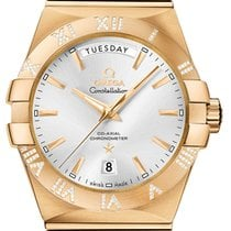 Omega Constellation Co-Axial Automatic Day Date 38mm 123.55.38...