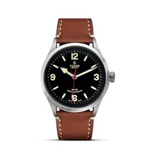 Tudor HERITAGE RANGER Dark Brown Leather Automatic 79910