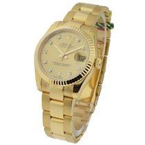 Rolex Unworn 178278_oyster_champ_dd Yellow Gold Mid Size...