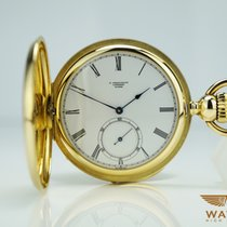 Longines 125 Jahre Jubiläums Taschenuhr 750 / 18K Gold