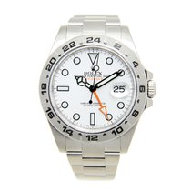 Rolex Explorer II Stainless Steel White Automatic 216570WT