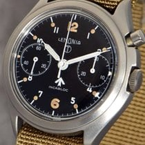 Lemania almost as new Aviator's Chronograph  of the Royal...