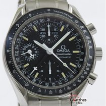 Omega Speedmaster Day Date Mark 40 Triple Calendar Box Papers...