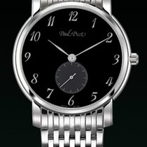 Paul Picot FIRSHIRE  EXTRA-FLAT dial black strap steel