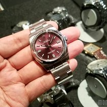 Rolex 116000 Red Grape Dial (888) Oyster Perpetual 36mm