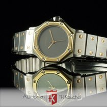 Cartier Santos Octagon Ladys Gold Stahl Automatique 25 mm