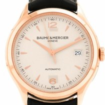 Baume & Mercier Clifton 18K Solid Rose Gold Automatic