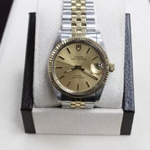 Tudor Rolex 75203  Prince Oysterdate 14k Yellow Gold & SS