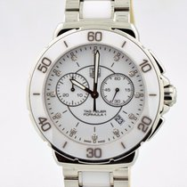 TAG Heuer Formula 1 Stainless Steel White Ceramic White...