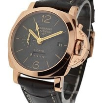 Panerai PAM00576 PAM 576 - Luminor 1950 8 Days GMT in Rose...
