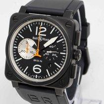 Bell & Ross Aviation Chronograph Black & White BR03 94...