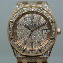 Audemars Piguet ROYAL OAK  41MM ROSE GOLD / DIAMONDS SETTING