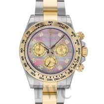 Rolex Daytona Black MOP Steel/18k gold G 40mm - 116503