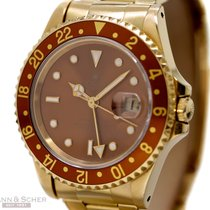 ロレックス (Rolex) GMT-Master II Tigereye Ref-16718 18k Yellow Gold...