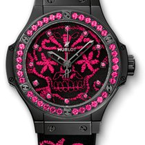 ウブロ (Hublot) Big Bang Broderie Sugar Skull Fluo Hot Pink...