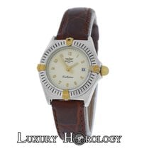Breitling Authentic Women's  Callistino B52043 18K Gold...