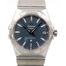 Omega Constellation 35 Co-Axial Automatic Blue Dial
