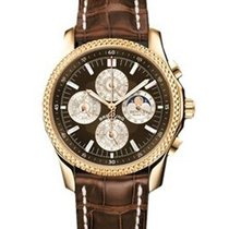 Breitling Bentley Mark VI Brown Dial Chronograph Men's Watch