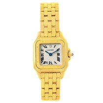 Cartier Panthere Heart Dial Yellow Gold Diamond Ladies Le...