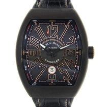 Franck Muller Vanguard Stainless Steel Black Automatic V 45 Sc...