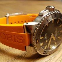 Oris Aquis Date Orange 6 Months Old