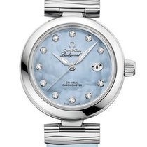 Omega 42532342057003 De Ville Ladymatic Blue Pearl Diamonds