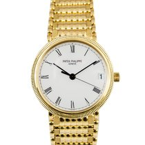 Patek Philippe 18k Yellow Gold Calatrava, Ref: 3802