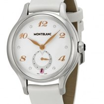 Montblanc Princess Grace de Monaco Quartz Steel White Dial R